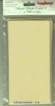 Заготовка для открытки с конвертами, 105*210  Металлик золото